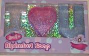 Children's Glitter Alphabet Soap