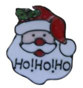 SANTA HEAD 110X125MM GEL CLING WINDOW STICKER CHRISTMAS DECORATION