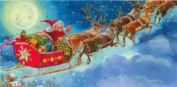 Mini Advent Calendar - Santa Is Coming - Winter Wonderland