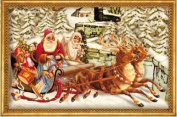 Christmas Sleigh With Envelope Advent Calendar