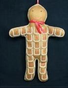 Gisela Graham - Fabric Gingerbread Man Advent Calendar