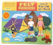 Felt Creations Felt Picture Set - Camping