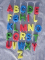 NDA 26 Alphabet sponges use the ABC letters in the bath or for craft activities