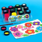 Fabric Paint Pots (Pack of 12)