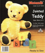 Dempsey Designs Minicraft 35cm Jointed Teddy Kit Height