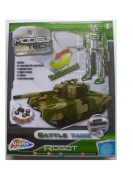 Build Your Own Friction Wind Up Army Battle Tank Or Robot Boys Creative Craft Set
