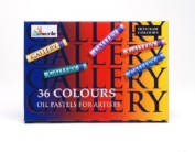 Reeves Oil Pastel Set - 36 Assorted Colours