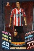 Match Attax 2012/2013 Star Signing Card - 395 Sunderland ADAM JOHNSON [Toy]