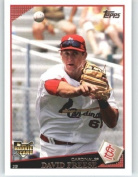 2009 Topps Baseball Card # 643 David Freese RC - RC - Rookie Card - St. Louis Cardinals - Shipped In