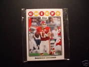 2008 Topps Kansas City Chiefs Complete Team Set of 9 cards including Glenn Dorsey rookie, Dwayne Bowe and more