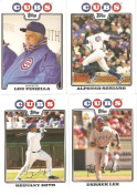 2008 Topps Chicago Cubs Complete Team Set (21 - Baseball Cards from both Series 1 & 2) Includes Alfonso Soriano, Derrek Lee, Carlos Zambrano and more