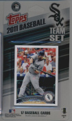 2011 Topps Limited Edition Chicago White Sox Baseball Card Team Set (17 Cards) - Not Available In Packs!!