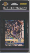 2010 / 2011 Donruss Basketball LOS ANGELES LAKERS Team Set - 10 Cards Including Kobe Bryant, Pau Gasol, LaMar Odom, Ron Artest, Andrew Bynum, Derek Fisher, Sasha Vujacic, and more