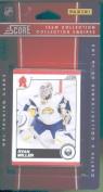 2010 /11 Score Hockey Cards Team Set - Buffalo Sabres- 15 Cards Including Thomas Vanek, Ryan Miller, Tyler Myers, Tyler Ennis and more