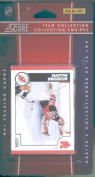 2010 /11 Score Hockey Cards Team Set - New Jersey Devils- 16 Cards Including Stars- Ilya Kovalchuk, Zach Parise, Martin Brodeur and more Rookie card of Nick Palmieri.