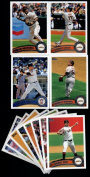 2011 Topps San Francisco Giants Complete Series 1 & 2 Team Set - Deluxe Arcylic 25 Cards including 2 Buster Posey cards, Renteria, Huff, Torres, Ford RC, Cody Ross, Pat Burrell, Lincecum, Brandon Belt RC & more