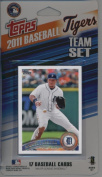 2011 Topps Limited Edition Detroit Tigers Baseball Card Team Set (17 Cards) - Not Available In Packs