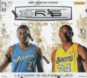 2010/11 Panini Rookies & Stars Longevity Basketball Hobby Box NBA