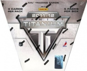 2011/12 Panini Titanium Hockey Hobby Box NHL