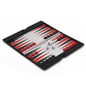 Magnetic Slim line Travel Backgammon set
