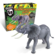 Deadly 60 3D Puzzle African Elephant