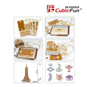 """CubicFun 3D Puzzle """"The Empire State Building - New York"""""""