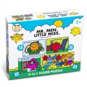 Paul Lamond Mr Men Little Miss 4-in-1 Puzzle