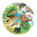 Wild Cats Jigsaw Puzzle by James Hamilton Grovely