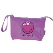 Happy Colours Spiritual vinyl beauty bag