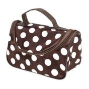 Dual Zipper Cosmetic Bag Toiletry Bag Make-up Bag Hand Case Bag