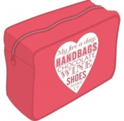 Red Make-up Bag - My Five a Day