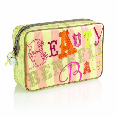 Benefit Cosmetics-benefit travel beauty bag
