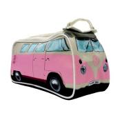Genuine Volkswagen Split Windscreen VW Campervan Camper Van Washbag Wash Bag Travel Bag - Pink