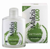 MALIZIA UOMO VETYVER After Shave BALM ohne Alkohol 100ml
