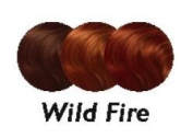BALMAIN colour FRINGE - WILD FIRE 15CM