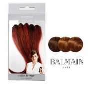 BALMAIN colour FRINGE - WARM CARAMEL 30CM