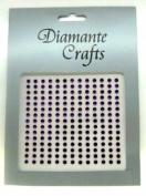 195 x 3mm Purple Diamante Self Adhesive Rhinestone Body Vajazzle Gems - created exclusively for Diamante Crafts