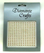 225 x 2mm Gold Diamante Self Adhesive Rhinestone Nail Body Vajazzle Gems - created exclusively for Diamante Crafts