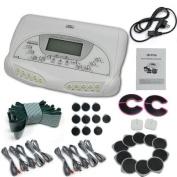 Segawe New Microcurrent Body Shaper Firm Tone Fitness Spa Machine Ib-9116 - Silver - 8x15x20