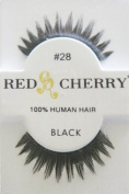 RED CHERRY FALSE EYELASHES 28