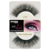 Amazing Shine Human Hair False Eyelashes - 199