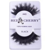 RED CHERRY FALSE EYELASHES 40