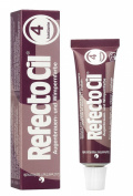 Refectocil Chestnut 4 Eyelash and Eyebrow Tint 15ml