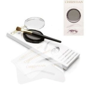 Christian Eyebrows CHARCOAL Stencils, Powder and Brush Set