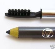 W7 Delux Eyebrow Pencil With Groomer - Grey Black