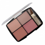 Body Collection Quad Blusher Palette & Blush Brush English Rose