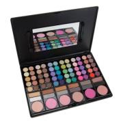 Jazooli 78 Colour Eyeshadow Eye Shadow Palette Makeup Kit Set Make Up Box with Mirror