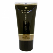 Feather Finish Cosmetics For Women by Feather Finish Lasting Matte Autumn Beige Foundation 30ml