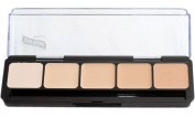 Graftobian Professional HD Cream Foundation palette in warm and cool colours