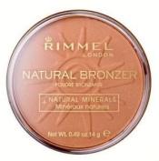 Rimmel London Natural Bronzer SPF 8 - 022 Sun Bronze 14g